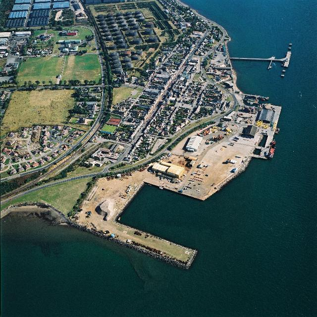 Aerial View of Invergordon from the South-West