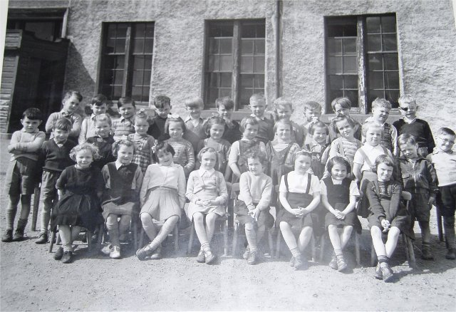 Invergordon Academy Primary 1 1954/5