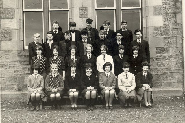 Invergordon Academy 6th year - 1965