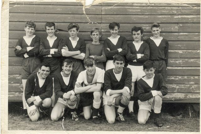 Invergordon Academy Senior Football Team 1963-4