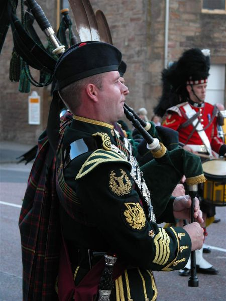 Pipe Major Calum Mackenzie