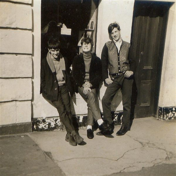 Three Lads in the High Street