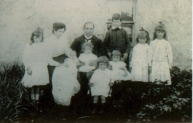 George Mitchell and Family in about 1902