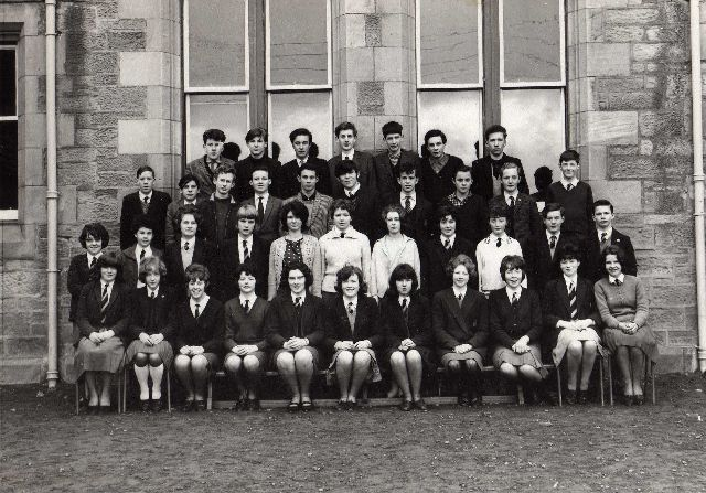 Invergordon Academy Class 3A - 1965