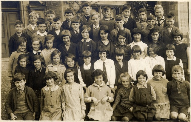 Class of 1931-32 Invergordon Academy