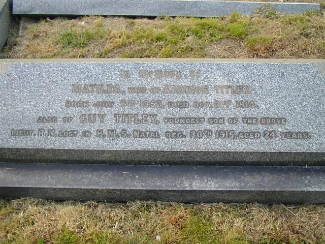 Guy Titley's Memorial