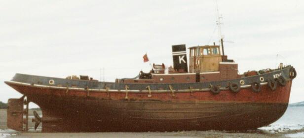 The tug MT Kent