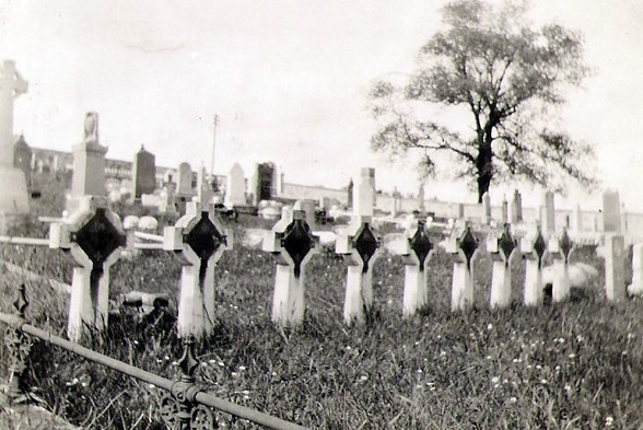 Natal graves at Rosskeen Cemetery