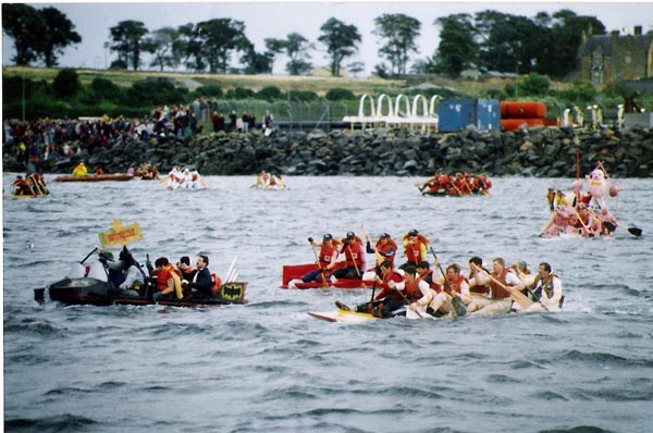 Invergordon Raft Race