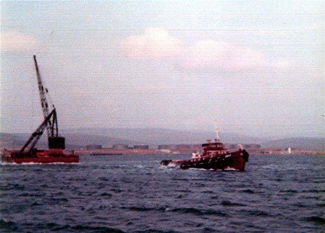The tug Kent