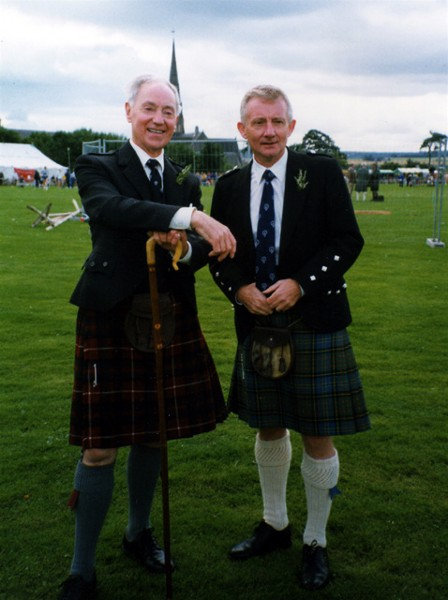 Two Likely Lads at the Highland Gathering
