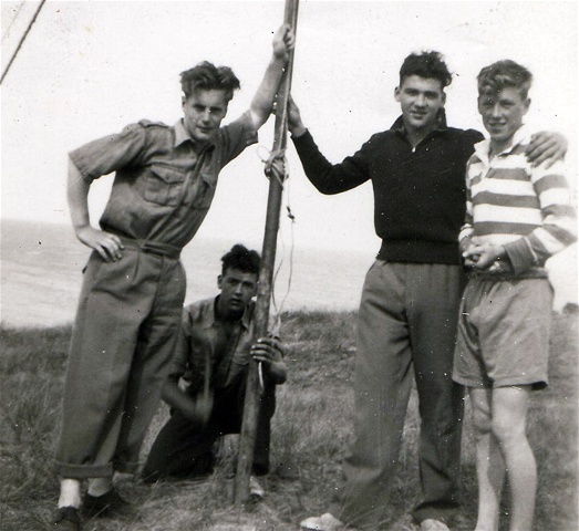Early Fifties Scout Camp