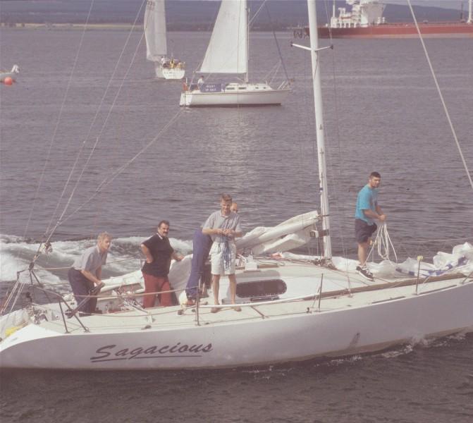 Yacht 'Sagacious'
