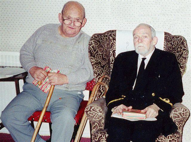 Davey Bodell and Eddie Moncur