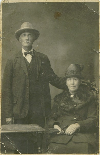 Mr and Mrs Henry Dunn of Invergordon
