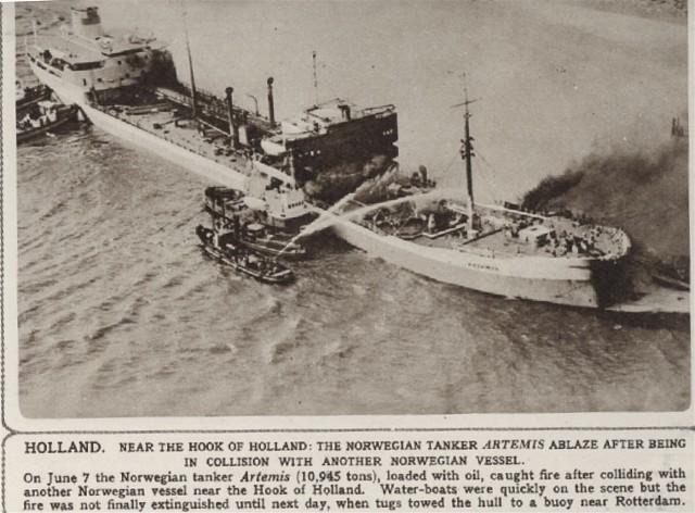 Norwegian Tanker 'Artemis'
