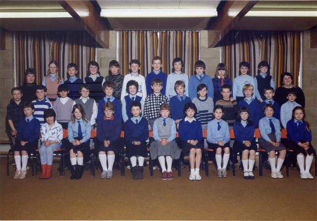 Park School - Primary 7 - Year 1986