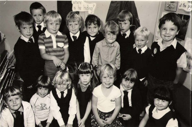 Liam Gaughan - Primary 1, South Lodge 1984
