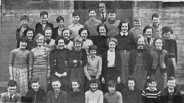 Invergordon Academy Class 7 - March 1959