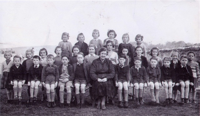 Mrs Ross the teacher with Saltburn school