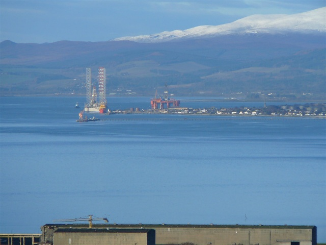 Invergordon and Ben Wyvis