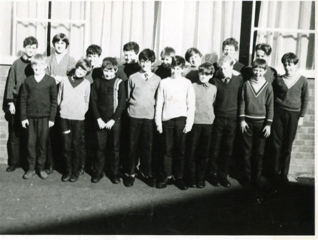 Invergordon Academy, 1st Year Boys, 1969